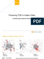 Financing TOD in Indian Cities - FSCI Workshop - Hub