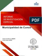 Fallo de la Contraloría sobre la Municipalidad de Cunco
