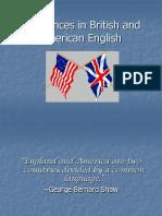 American vs British.ppt