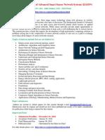 International Journal of Advanced Smart Sensor Network Systems (IJASSN)