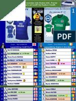 Premier League week 12 181110 Cardiff - Brighton 2-1