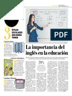 La Importancia Del Inglés en La Educación