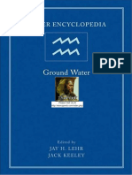 Ground Water (1) Encyclopedia
