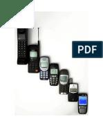 Evolución teléfonos móviles