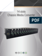 Glc-chmc-001 Chasis Para 14 Media Converter