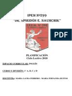 Planif Inglés 1° A B C D Prof. Ferrero Bustos F_