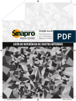Tabela Sinapro