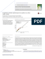 A Method to Estimate Spatiotemporal Air Quality in 2015 Science of the Total