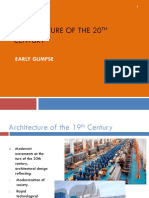 Intro to 20th Century Arch