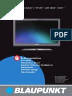 Tv Blaupunkt Manual