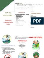 3.Leaflet Hipertensi