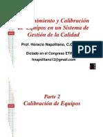 EXPOSICIÓN ETIF 2012 Calibracion