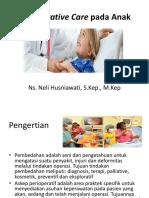 Perioperative Care Pada Anak