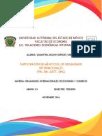 Participacion de Mexico en Los Organismo