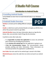 Android Studio Full Course