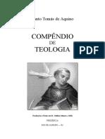 Compêndio de Teologia de Santo Tomás Compendium Theologiae.doc