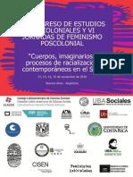 IV Congreso Estudios Poscoloniales