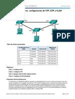 Configuracion Vlan Extendidas VTP DTP