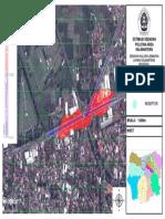 Estimasi Sebaran Polutan Area Kalibanteng Weekend