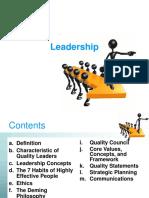 TQM Leadership