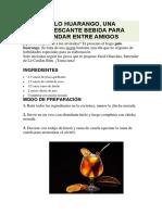 algarrobo recetas