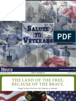 Salute to Veterans 2018