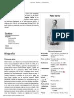 Félix Varela - Wikipedia, La Enciclopedia Libre