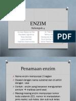 ENZIM (KELOMPOK 4B)