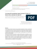 Las causas del curanderismo según la prensa en Tandil y Buenos Aires a principios del Siglo XX.pdf