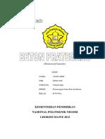 95294359 Makalah Beton Prategang