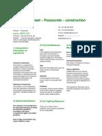 Fly Ash  (Pozzocrete) Safety Data Sheet 1