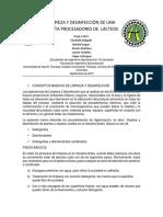 RESUMEN EXPOSICION LIMPIEZA Y DESINFECCION DE PLANTAS LACTEAS GRUPO 2.docx