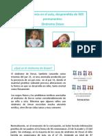 Síndrome de Down - TEA - Asperger