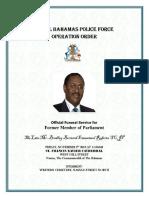 Official Funeral Bradley Roberts
