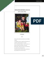 La Familia Fernando Botero Angulo 19 de Ab 2012 Revista M Dica Cl Nica Las