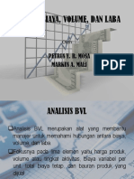 Analisis Biaya, Volume, Dan Laba