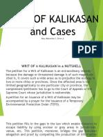 Writ of Kalikasan.agcaoili