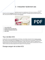 Dosage Beta Hcg Interpreter Facilement Ses Resultats 1141 o5vfeu