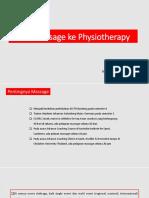 dari massage ke fisioterapi