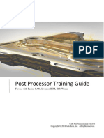 Post Processor Training Guide
