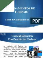 Clasificación Del Turismo