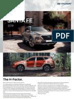 MY19 Hyundai Santa Fe en-Web