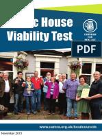 Public House CAMRA Viability Test
