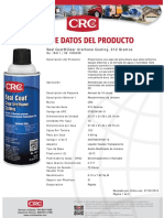 Ficha técnica barniz sellador Crc Seal Coat Red