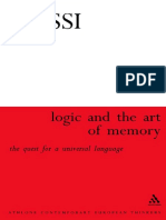122542432 Logic and the Art of Memory