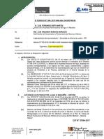 INFORME TECNICO N° 008_Recomendación OCI INVENTARIO REC HIDRIOS CAJAMARCA