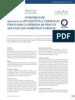 Modelo Transte Rico de Modificaci n Diet Tica y Ejercici 2012 Revista M Dica