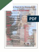 Visita de la v. de los Desamparados y de Caudete