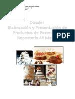 Dossier Elaboracion y Presentacion de Productos de Pasteleria y Reposteria 4° Medios.doc