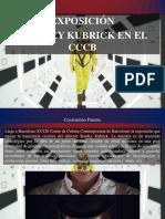 Constantino Parente - Exposición de Stanley Kubrick en El CCCB